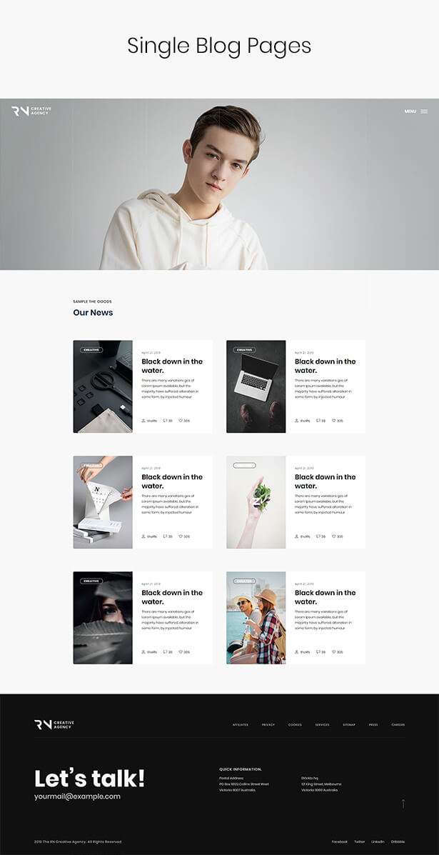 TheRN - Creative Agency HTML5 Template - 6