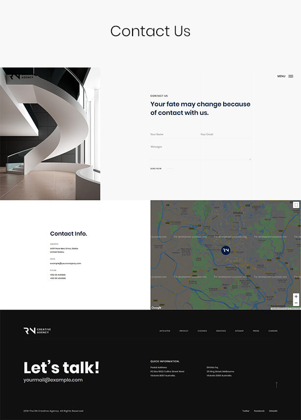 TheRN - Creative Agency HTML5 Template - 9