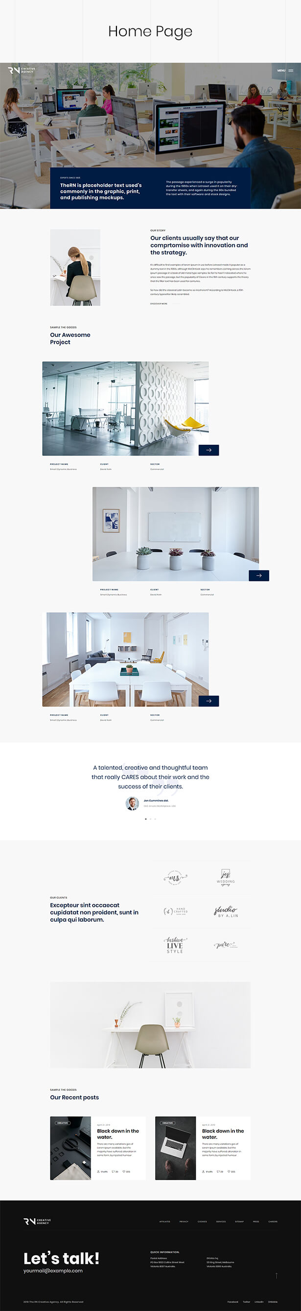 TheRN - Creative Agency HTML5 Template - 3