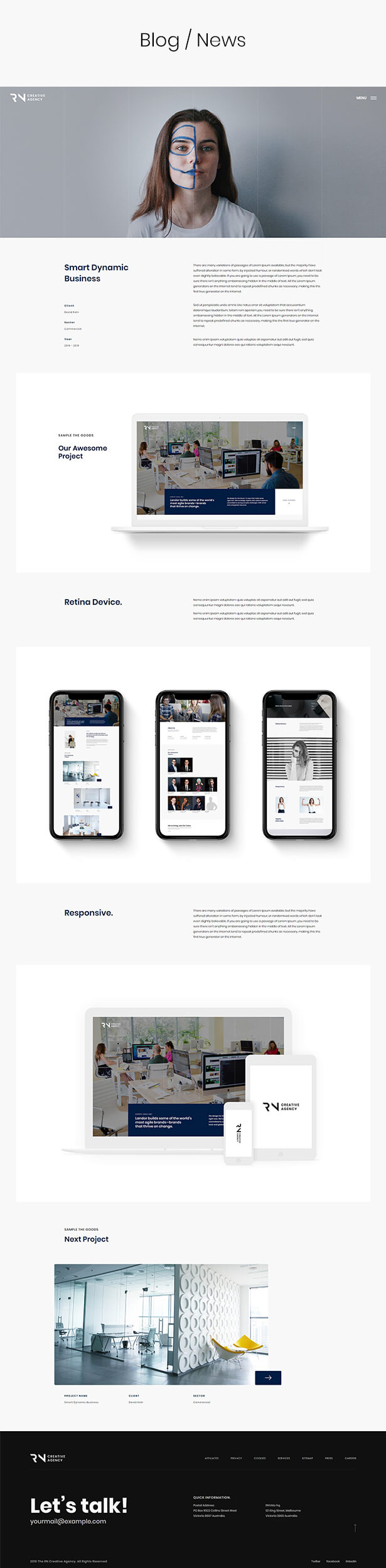 TheRN - Creative Agency HTML5 Template - 5