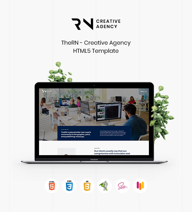 TheRN - Creative Agency HTML5 Template - 1